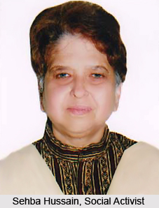 Sehba Hussain, Indian Social Activist