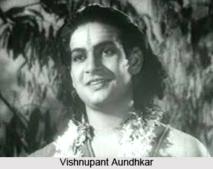 Vishnupant Aundhkar, Indian theatre personality