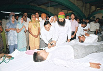 Dera Sacha Sauda Blood Donation Camp