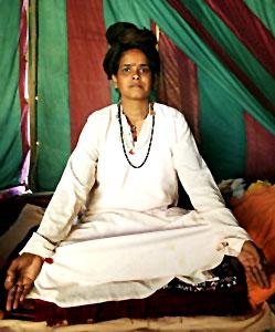 Female Sadhu