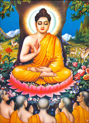 Formation of Sangha by Buddha