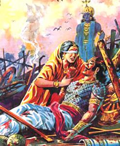 gandhari of Mahabharat