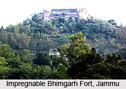 Bhimgarh Fort, Jammu and Kashmir