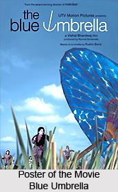 Blue Umbrella  , Indian film