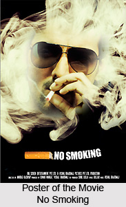 No Smoking,   Indian movie