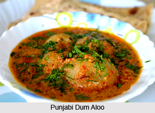 Dum Aloo, Indian Dish
