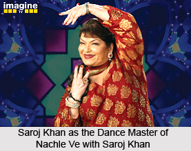 Nachle Ve with Saroj Khan, Indian Reality Show