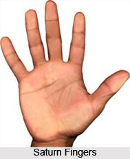 Finger of Saturn or Middle Finger, Palmistry