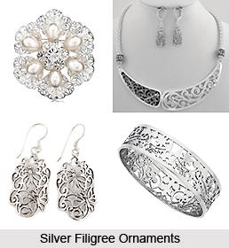 Silver Filigree in Odisha