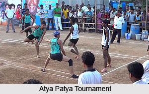 Atya Patya, Traditional Sport in India