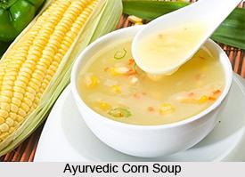 Ayurvedic Corn Soup
