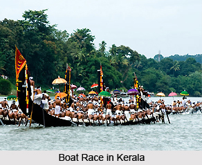 Boat races in Kerala, South India