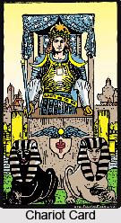 Chariot Card , Tarot