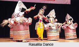 Costumes in Rasalila Dance