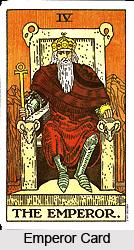 Emperor Card , Tarot Card