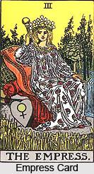 Empress Card , Tarot Card