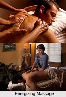 Energizing Massage  , Aromatherapy
