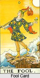 Fool Card , Tarot Card