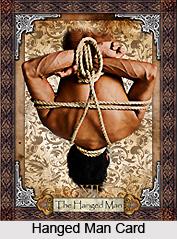 Hanged Man Card , Tarot Card