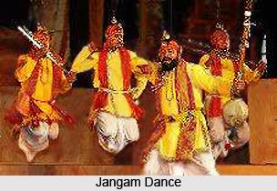 Jangam, Indian Folk Dance