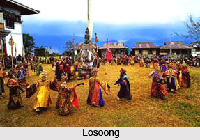 Losoong , Lama Dances