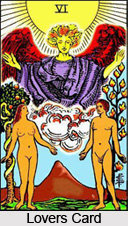 Lovers Card , Tarot Card