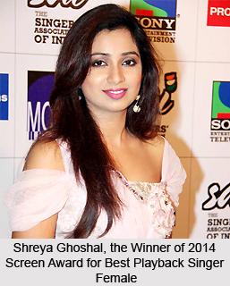 Screen Awards for Best Playback Singer Female