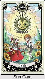 Sun Card , Tarot Card