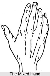 The Mixed Hand, Indian Palmistry