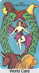 World Card , Tarot Card