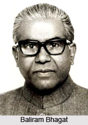 Baliram Bhagat , Indian Politician