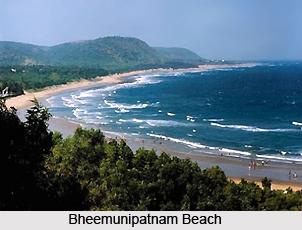 Bheemunipatnam beach, Andhra Pradesh