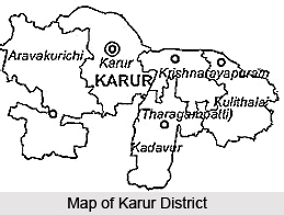 Geography of Karur District