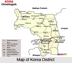 Geography of Korea District