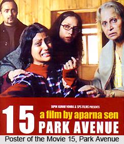 15, Park Avenue, Indian Film