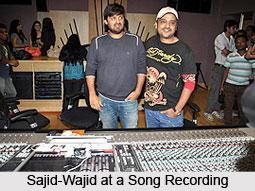 Sajid-Wajid, Indian Movie Music Directors