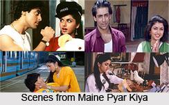 Maine Pyar Kiya , Indian movie