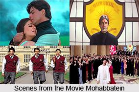 Mohabbatein, Indian movie