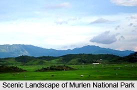 Murlen National Park, Champhai District, Mizoram