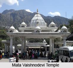 Architecture of Mata Vaishnodevi Temple