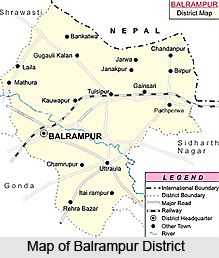 Balrampur District, Uttar Pradesh