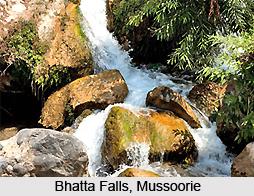 Bhatta Falls, Mussoorie, Uttarakhand