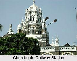 Churchgate Railway Station , Mumbai