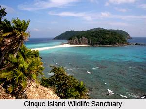 Cinque Island Wildlife Sanctuary, Andaman Islands