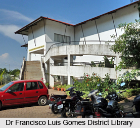 Dr Francisco Luis Gomes District Library, South Goa District, Goa