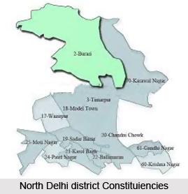 Jharoda Majra Burari, North Delhi district, Delhi