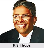 K.S. Hegde , Indian Politician