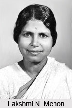 Lakshmi N. Menon , Indian Politician