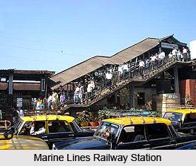Marine Lines Railway Station , Mumbai