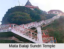 Mata Balaji Sundri Temple, Shivalik Hills-Parole, Kathua, Jammu & Kashmir